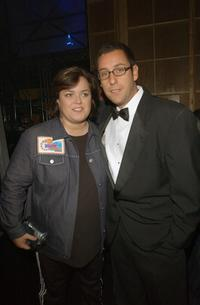 Rosie and Adam Sandler at the Nickelodeon 15th Annual Kids Choice Awards.