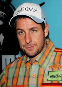 Adam Sandler at the MTV's Total Request Live.