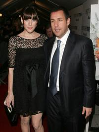 Adam Sandler and Liv Tyler at the premiere of