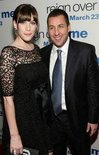Liv Tyler and Adam Sandler at the premiere of