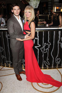 Sam Claflin and Laura Haddock at the after party of the UK premiere of