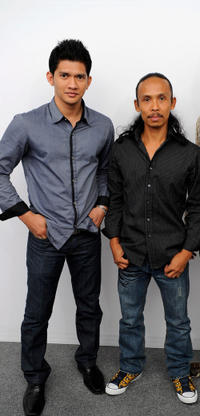 Iko Uwais and Yayan Ruhian at the portrait session of