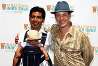 Ravi Kapoor and Raphael Sbarge at the W Hollywood Yard Sale Preview Brunch.