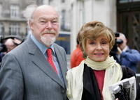 Prunella Scales and Timothy West at the Broadcasting house.