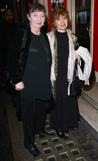 Prunella Scales and Guest at the Lover/Collection Press Night.