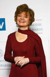 Prunella Scales at the British Soap Awards 2008.