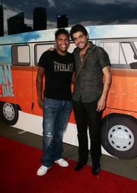 Rocky McKenzie and Dan Sultan at the Sydney premiere of