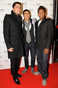 Dan Sultan, Hunter page and Rocky McKenzie at the premiere of