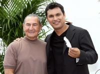 August Schellenberg and Adam Beach at the photocall of