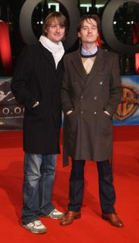 Axel Schreiber and Tom Schilling at the world premiere of