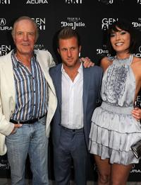 James Caan, Scott Caan and Wendy Glenn at the Los Angeles premiere of