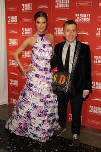 Vanessa Fitzgerald and Simon Doonan at the 22nd Annual Bailey House Auction and party.