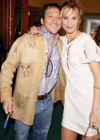 Rob Schneider and Molly Sims at the premiere of