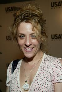 Bitty Schram at the USA Network's opening night party of 2003 U.S. Open.