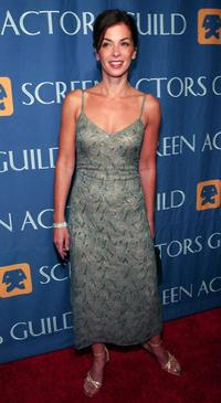 Annabella Sciorra at the Screen Actors Guild 2001 Emmy Nominee Party.