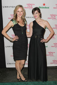 Kerry Bishe and Anna Wood at the after party of the premiere of