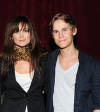 Alice Parkinson and Rhys Wakefield at the Australians In Film Screening of