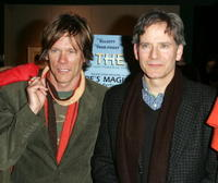 Kevin Bacon and Campbell Scott at the premiere of