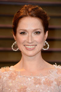 Ellie Kemper at the 2014 Vanity Fair Oscar Party hosted by Graydon Carter in West Hollywood, California.