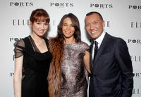 Ellie Kemper, Fiona Cibani and Joe Zee at the ELLE Women In Television event in California.