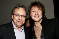 Lewis Black and Richie Sambora at the Kenneth Cole's