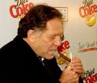 George Segal at the Diet Coke Special Benefit for the United Service Organizations at Spago's restaurant.