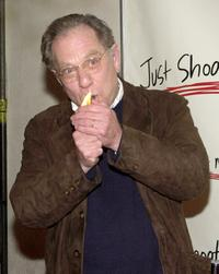 George Segal at the party celebrating the 100th episode of the television show