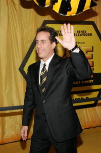 Jerry Seinfeld at the N.Y. premiere of