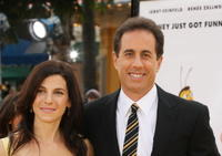 Actor Jerry Seinfeld and his wife Jessica at the L.A. premiere of