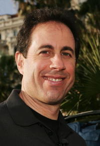 Jerry Seinfeld at the 60th International Cannes Film Festival.