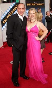Nestor Serrano and Guest at the premiere of