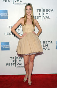 Caitlin Fitzgerald at the New York premiere of