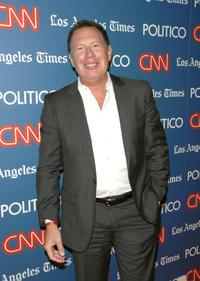 Garry Shandling at the CNN LA Times POLITICO Democratic Debate After Party.