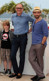 David Rauchenberger, director Markus Schleinzer and Michael Fuith at the photocall of