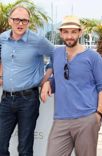 Director Markus Schleinzer and Michael Fuith at the photocall of