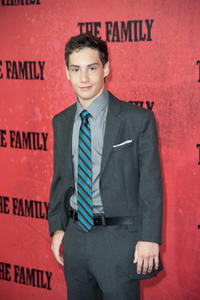 John D'Leo at the World premiere of
