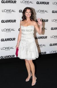 Brooke Shields at the 2007 Glamour Magazine Women of the Year Awards in New York.
