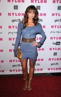 Sharni Vinson at the NYLON and YouTube Young Hollywood party.