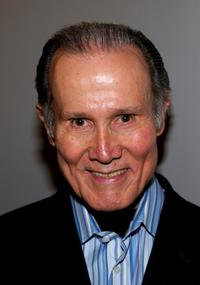 Henry Silva at the opening of the Deane F. Johnson Center For Neurotherapeutics.