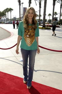 Alicia Silverstone at the LA Galaxy vs. Chelsea FC soccer game.