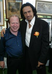Gene Simmons and Bob Lorsch at the 10th Annual Safari Brunch.