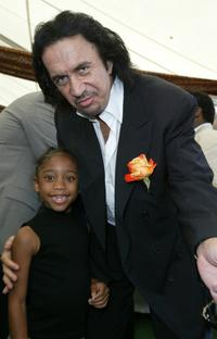Jamia Simone Nash and Gene Simmons at the 10th Annual Safari Brunch.