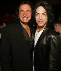 Gene Simmons and Paul Stanley at the