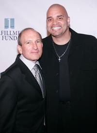 Dr. Gary Gitnick and Sinbad at the Fulfillment Fund's 11th Annual Stars Benefit Gala.