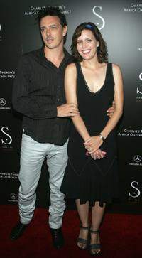 Ione Skye at the opening of