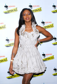 Condola Rashad at the after party of the Broadway opening night of