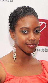 Condola Rashad at the New Dramatists' 63rd Annual Benefit Luncheon in New York.