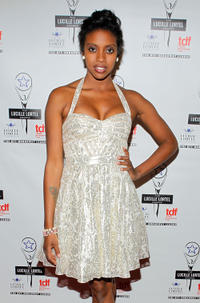 Condola Rashad at the 27th Annual Lucille Lortel Awards in New York.