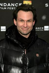 Christian Slater at the