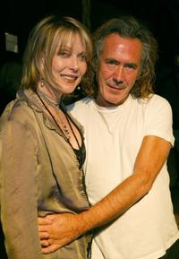 Susan Blakely and Richard Tyler at the Richard Tyler fashion show.
